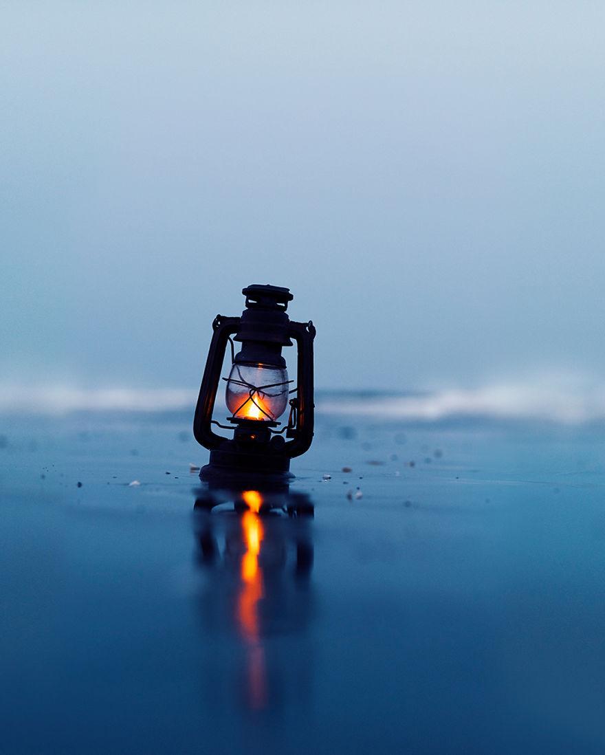 Волшебные фото с лампой