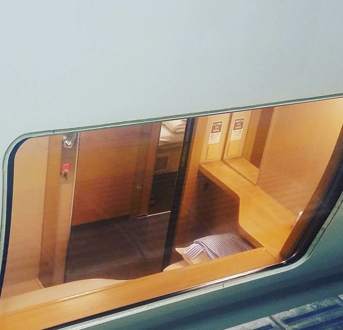 Japanese Sleeper Trains Look Ordinary From Outside But Their Interiors Are A Peaceful Oasis