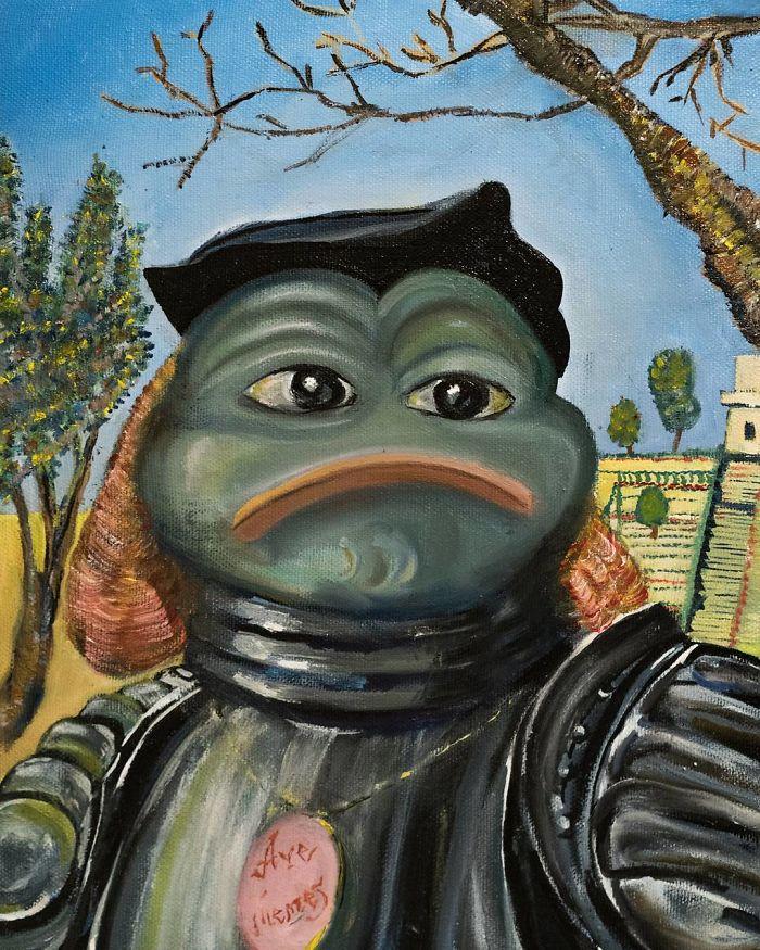 Pepe The Knight By Vittore Carpaccio