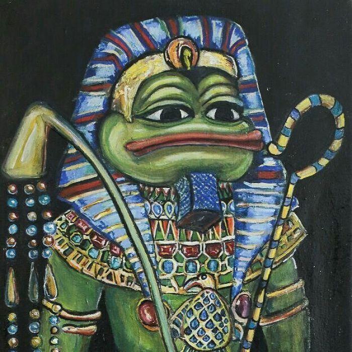 Pepe The Pharaoh