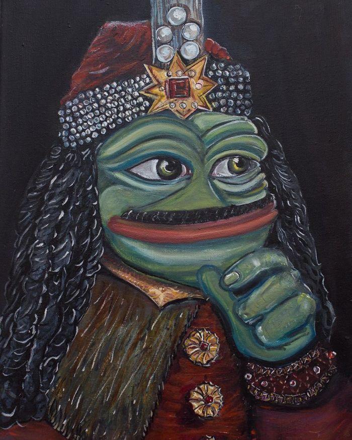 Pepe The Frog Vlad Dracula