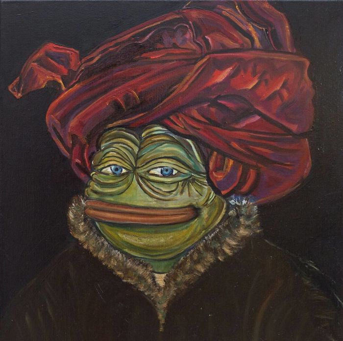 Pepe In A Red Turban