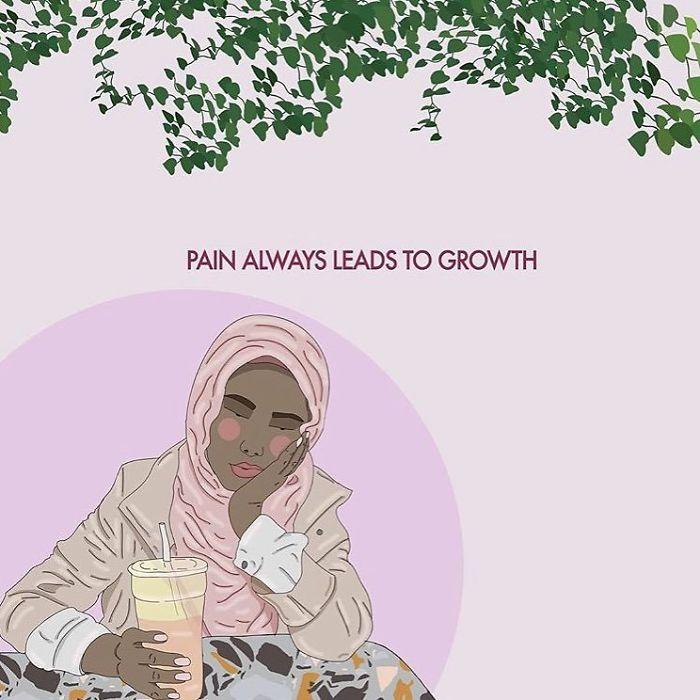 And Wisdom, And Understanding And And And. . . #recipesforselflove #growth #wisdom #understanding #love #positivity #bodypositive #allbodiesaregoodbodies #beautiful #growing #selflove #selfcare #loveyourself  #smashthepatriarchy  #fuckthepatriarchy #effyourbeautystandards #feminism #hijab #hijabi #feminsta #feminist #zine #illustration #digital #drawing #adobe #design #art #women #yourself