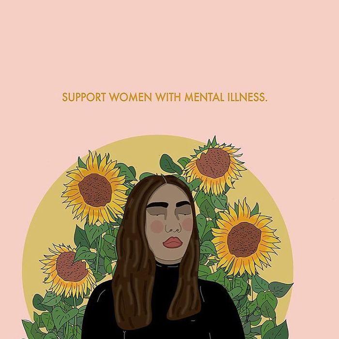 Your Support Means A Lot 💓. . . . #recipesforselflove #sisterhood #love #mentalhealth #recovery #support #mentalhealthawareness #allbodiesaregoodbodies #selflove #selfcare #loveyourself  #smashthepatriarchy  #youareperfect #fuckthepatriarchy #effyourbeautystandards #feminism #instagood #lifestyle #feminsta #feminist #zine #illustration #digital #drawing #design #graphic #art #women #grow #yourself