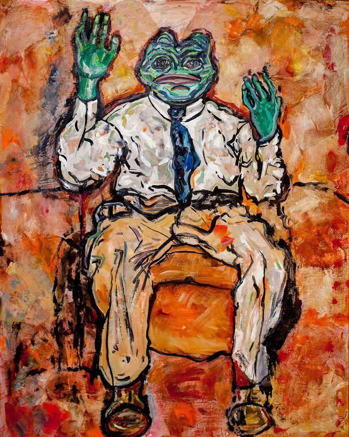 Egon Schiele Style