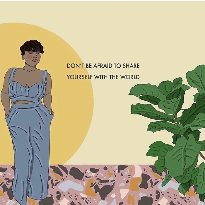 All Those Quirks And Oddities That Make You You Need To Be Shared With The World. Don't Be Shy To Be Your Awesome Self. The World Needs You . . . #beyourself #recipesforselflove #support #love #positivity #bodypositive #hope #allbodiesaregoodbodies #selflove #selfcare #loveyourself #smashthepatriarchy #youareperfect #fuckthepatriarchy #effyourbeautystandards #feminism #instagood #lifestyle #feminsta #feminist #zine #illustration #digital #drawing #instalove #design #graphic #art #pose #yourself