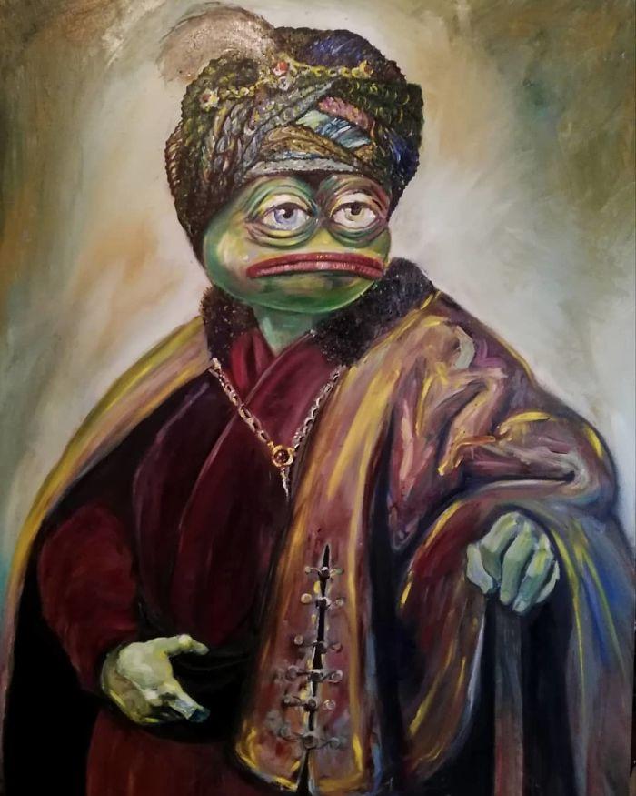 Pepe In Turkish Costume