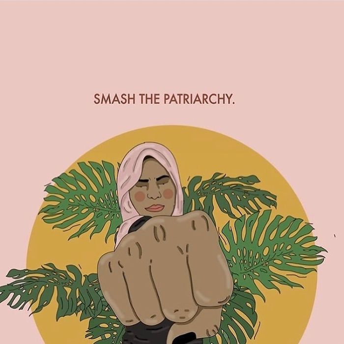 Going Into 2019 Like 👊. Let's Smash The White-Supremacist-Capitalist-Patriarchy Together! . . . #recipesforselflove #support #love #goals #2019 #newyear #instalove #selflove #selfcare #loveyourself  #smashthepatriarchy #youareperfect #whitesupremacy #lifestyle #extra #capitalism #feminism #instagood #looks #feminsta #feminist #zine #illustration #digital #drawing #socialjustice #justice #equality #yourself