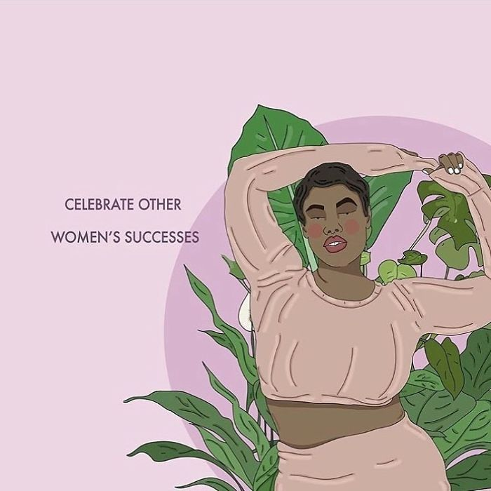 Get Behind Other Women, Build Them Up, Support Them, Their Success Is Our Success. . . . . . #recipesforselflove #support #love #positivity #bodypositive #translivesmatter #blacktranslivesmatters #selflove #selfcare #loveyourself #smashthepatriarchy #youareperfect #fuckthepatriarchy #effyourbeautystandards #feminism #lifestyle #instagood #feminsta #feminist #zine #illustration #digital #drawing #adobe #design #graphic #art #quotes #yourself