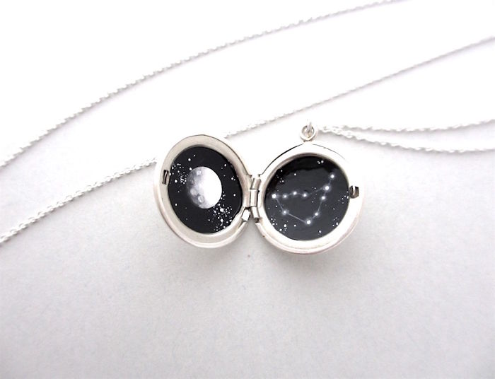 I Squeeze The Universe Into Wearable Lockets