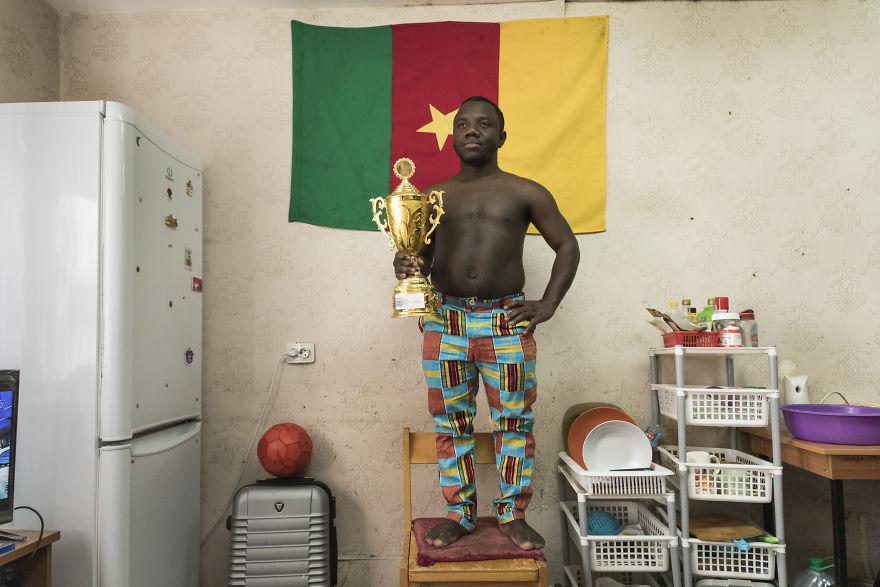 Landry William Yao From Yaounde, Cameroon. Medicine Major