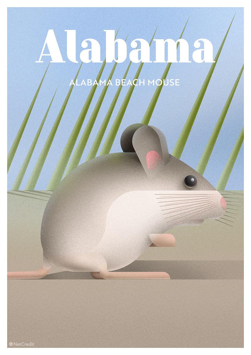 Alabama Beach Mouse
