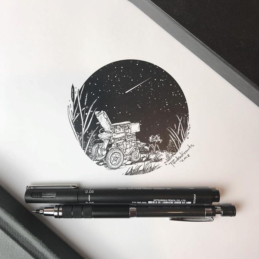 Hidden Drawings By Joseph Catimbang