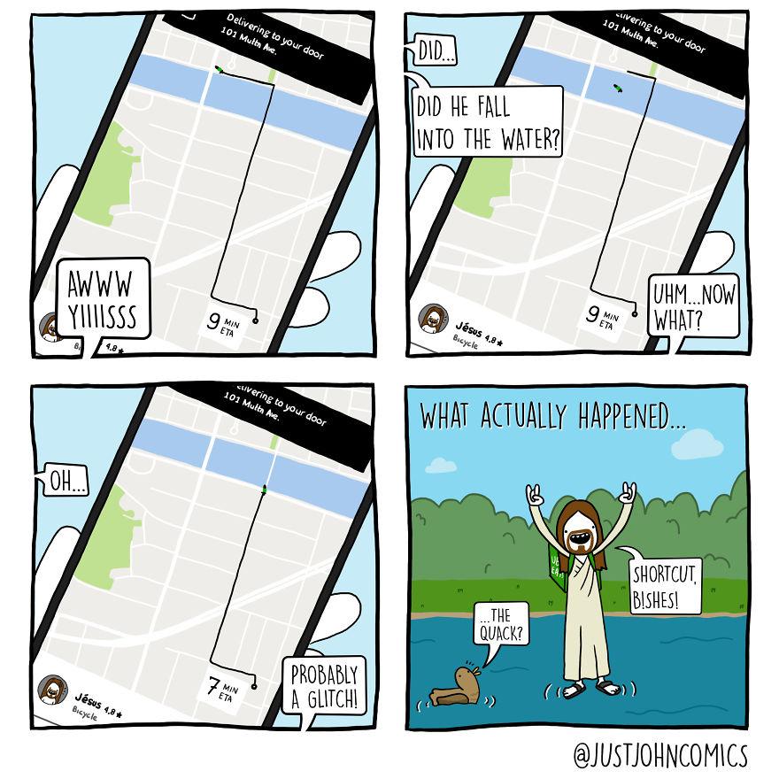 John Orders On Uber Eats - Part 1