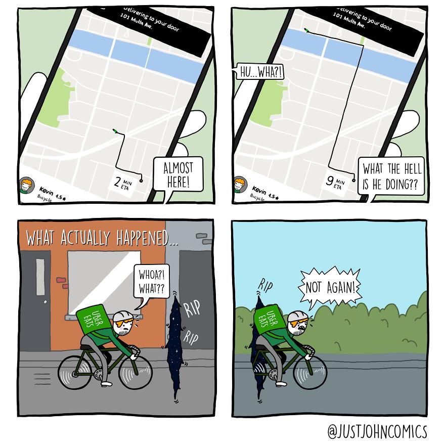 John Orders On Uber Eats - Part 2