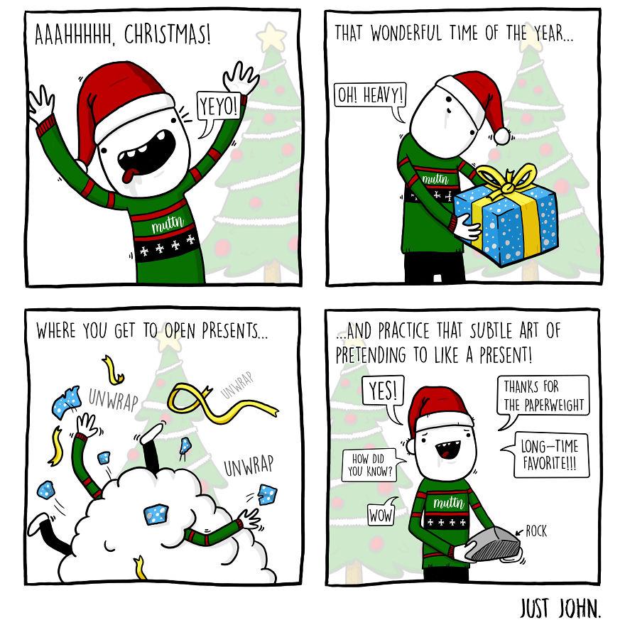 A Christmas Tradi-John!