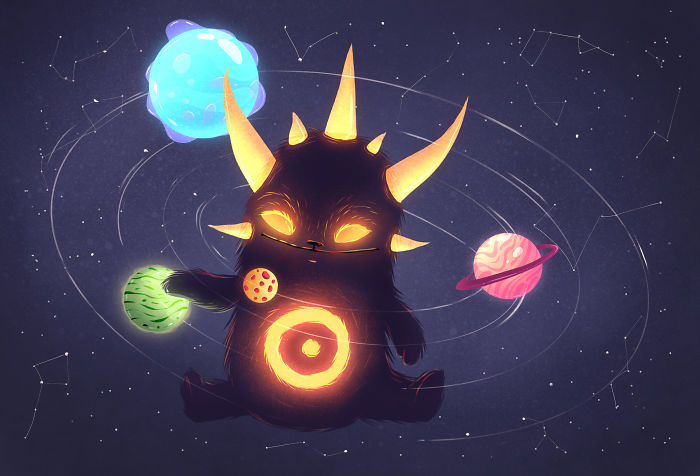 I Create 20 Glowing Monster From Outer Space