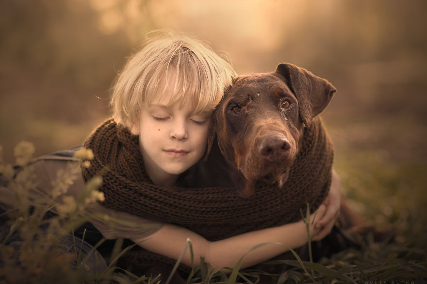 Dan With Adhd And Efi - Abused And Neglected Doberman