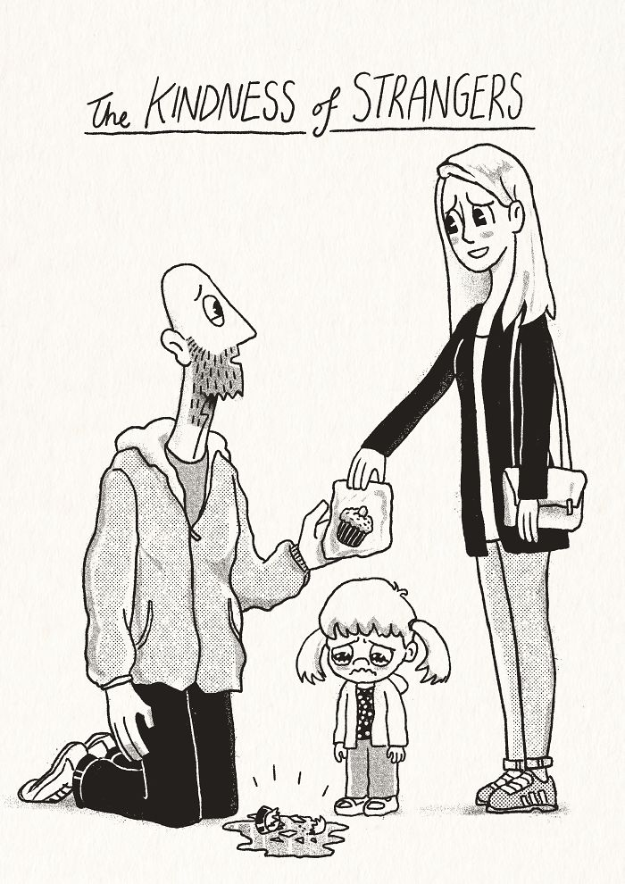 For 7 Years I've Been Drawing Comics For My Partner Kellie And Our Daughter Poppy Based On Our Lives Together (40 New Comics, Nsfw)