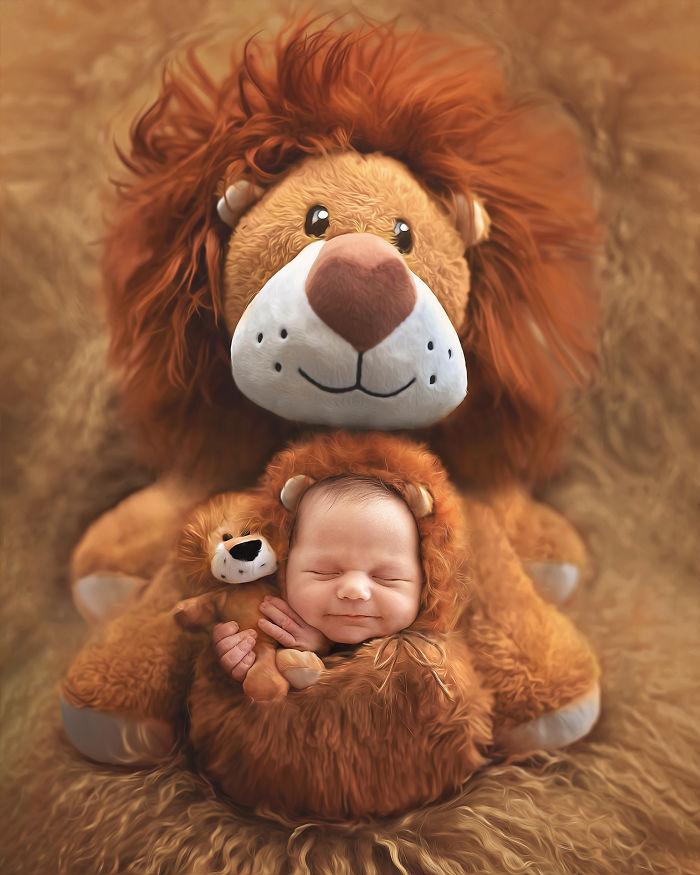 Newborns Baby Animal Series