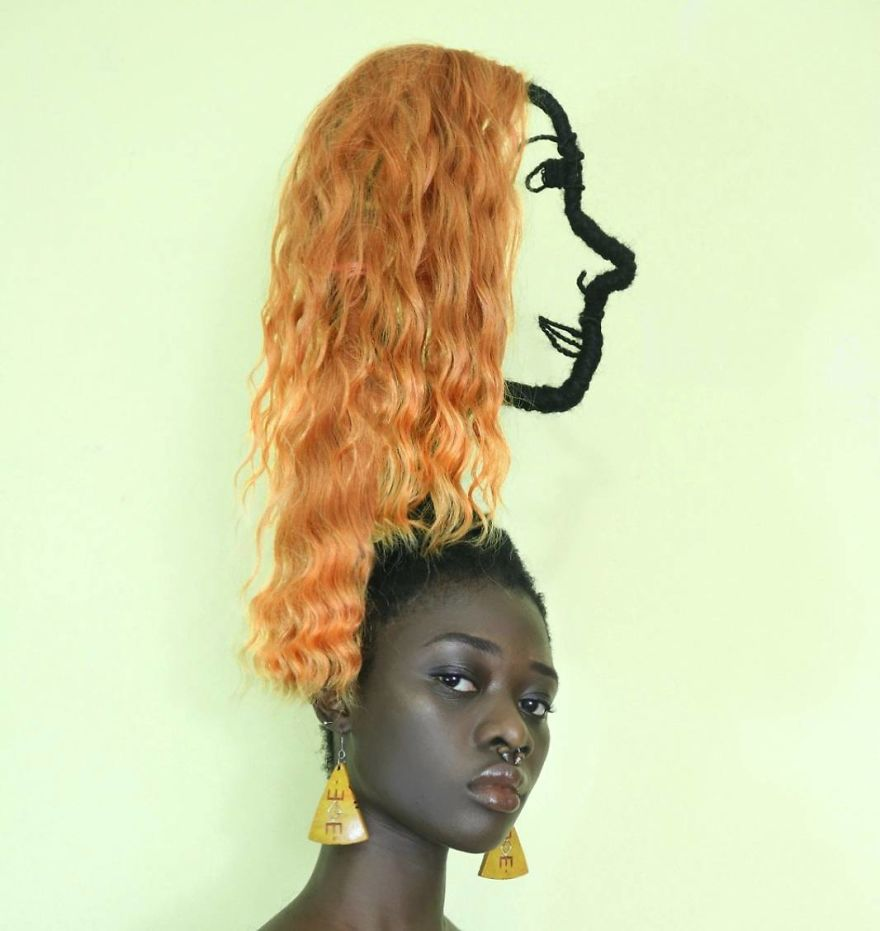 Meet Laetitia Ky The Artist Who Has A Hair With A Life Of Its Own