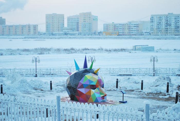 Street Art In The Permafrost.