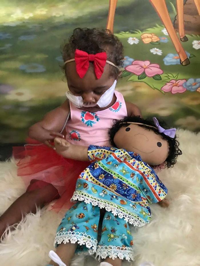This Woman Brings Smiles To Children's Faces By Making Custom Dolls That Match The Disabilities Of Their Owners