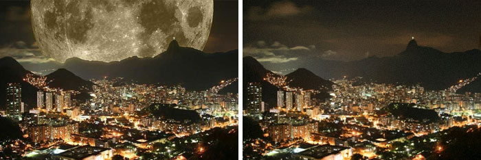 A Supermoon Photo That Gets Constantly Passed Around