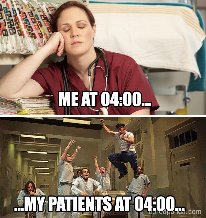 Me vs. The Patients