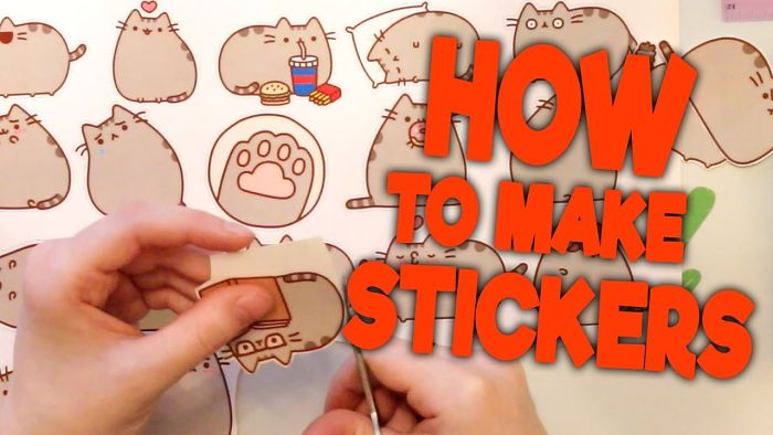 How To Make Stickers For You Laptops!
