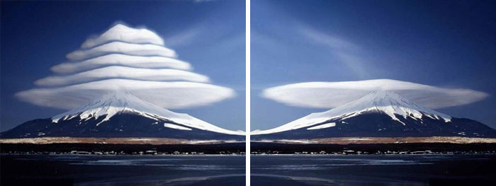 Perfect Lenticular Clouds