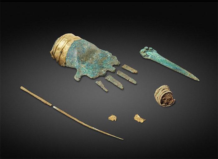 La representación más antigua de una parte del cuerpo humano