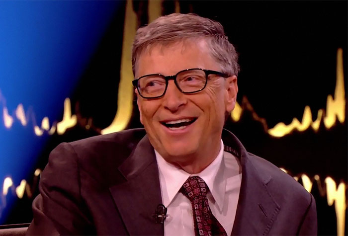 The Way Bill Gates Explained Why He Isn't The World's Most Generous Philanthropist Is Brilliant