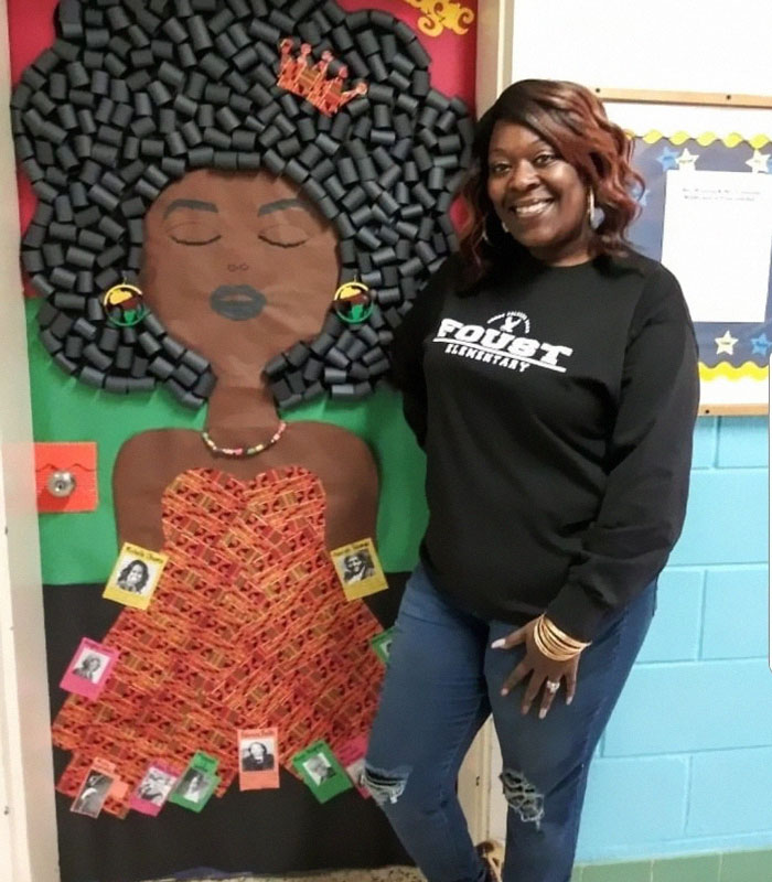 bee679b6d1e 25 Awesome Teachers That Decorated Their Classroom Doors For Black History  Month