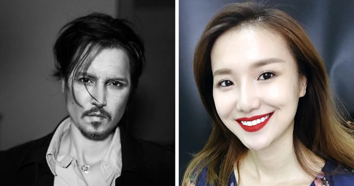 Chinese Make-Up Artist With An Audience Of 360k Followers On Instagram Turns Herself Into Johnny Depp