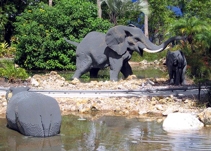 LEGO Elephants