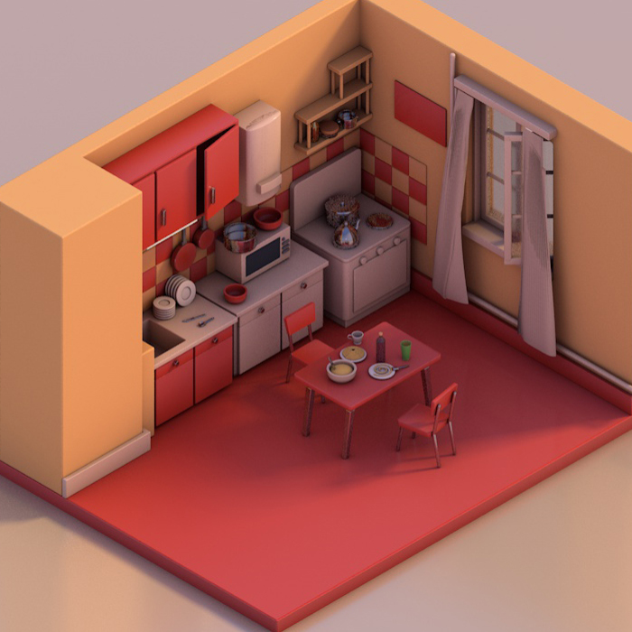 The Best Movie Kitchens Of All Time Get A 3D Modelling Treatment
