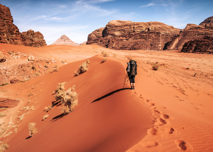 My Friend And I Spent 5 Days On Wadi Rum Desert Wild Camping And Capturing How The Earth Turns Into Mars In Marvelous Locations