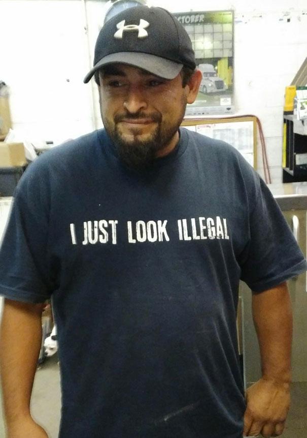 My Friend's Shirt