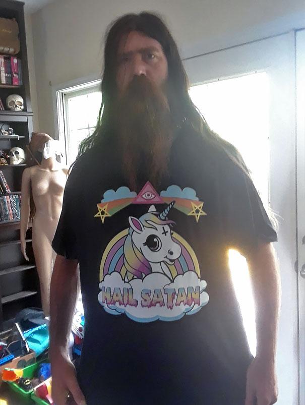 My Viking Friend's New Shirt