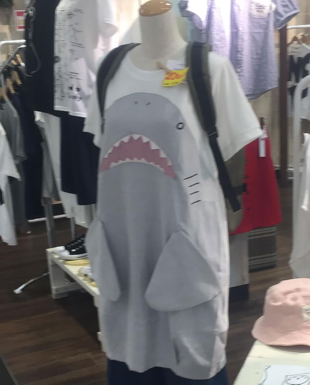 This Shark T-Shirt Has Pectoral Fin Pockets