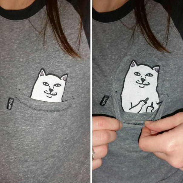 My Friend's T-Shirt Pocket