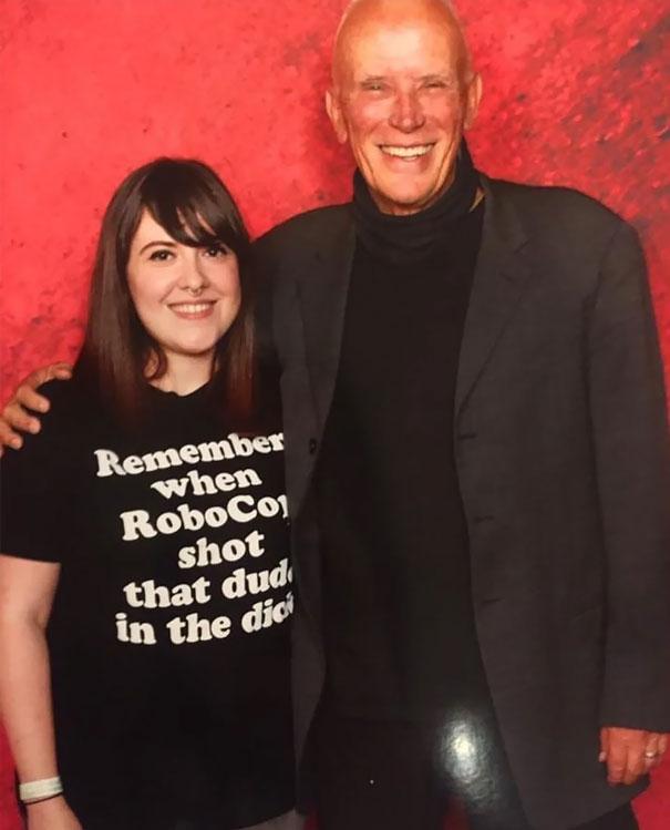 "The Perfect ""I'm Going To Meet Robocop"" Shirt"