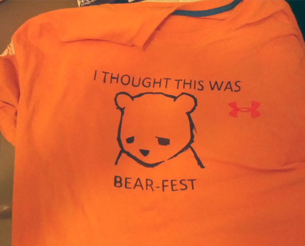 The Shirt I Made For The Toronto Beer Fest Went Over Really Well With The Crowd!