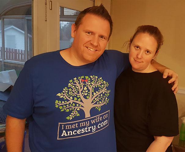 My New Date Shirt. Wife Wasn't Impressed