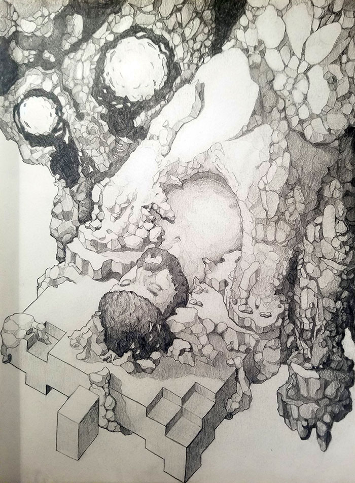 The Sandman, A Drawing About Sleep Paralysis