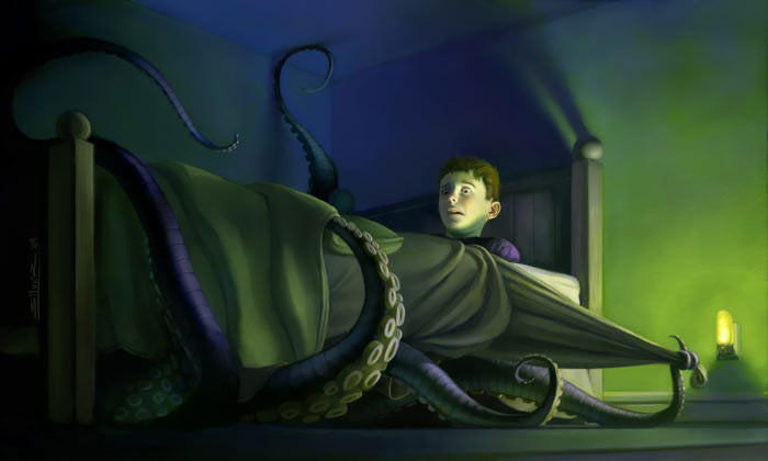 Done For An Article On A Condition Known As Sleep Paralysis. It's Kind Of Like The Opposite Of Sleep Walking