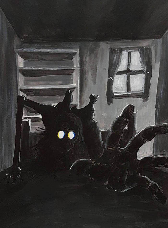 I Use My Nightmare Creatures As An Inspiration