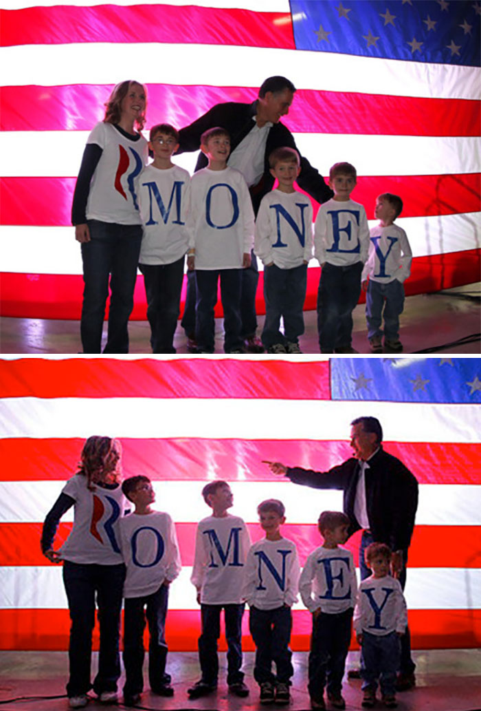 Romney Family Misspelling Their Last Name