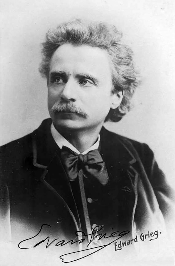 Edvard Grieg And His Lucky Frog
